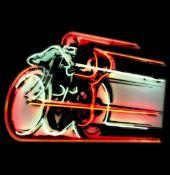 Large Motor Racer Neon Sign