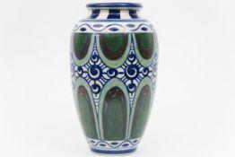 Belgian Charles Catteau Art Deco vase- in Keramis marked earthenware CATTEAU CHARLES (1880 - 1966)