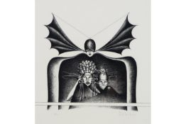 20th Cent. Belgian lithograph - signed Mark Verstockt||VERSTOCKT MARK (1930 - 2014) litho n° PP 33/1