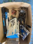 Mixed lot of automotive tools