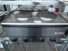 RESTAURANT 4 RING MARENO ELECTRIC 3 PHASE STOVE TOP NO RESERVE