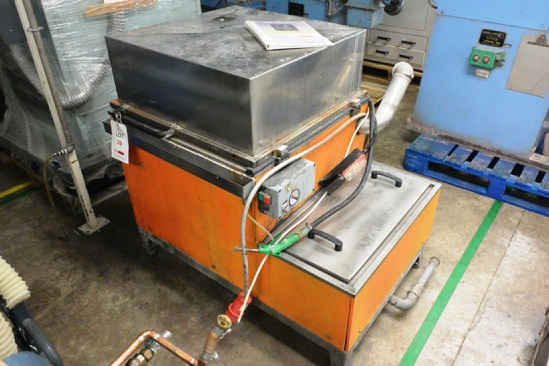 Turbex 800 No. 018545 industrial washer unit, 3 phase (working condition unknown) - Image 2 of 3
