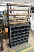 Steel frame storage rack