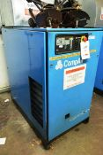 Compair Cyclon 218 air compressor, serial no. F164/0850 (1996), 7.5 bar, 22.1kw, 3 phase, Last...