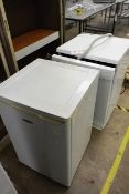 Bosch 516 P1B dishwsher and Fridgemaster undercounter refrigerator