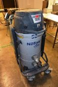 Nilfisk 52 CFM, type, 52H industrial vacuum, serial no. 3820111200263