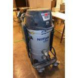 Nilfisk 52 CFM, type, 52H industrial vacuum, serial no. 3820111200263