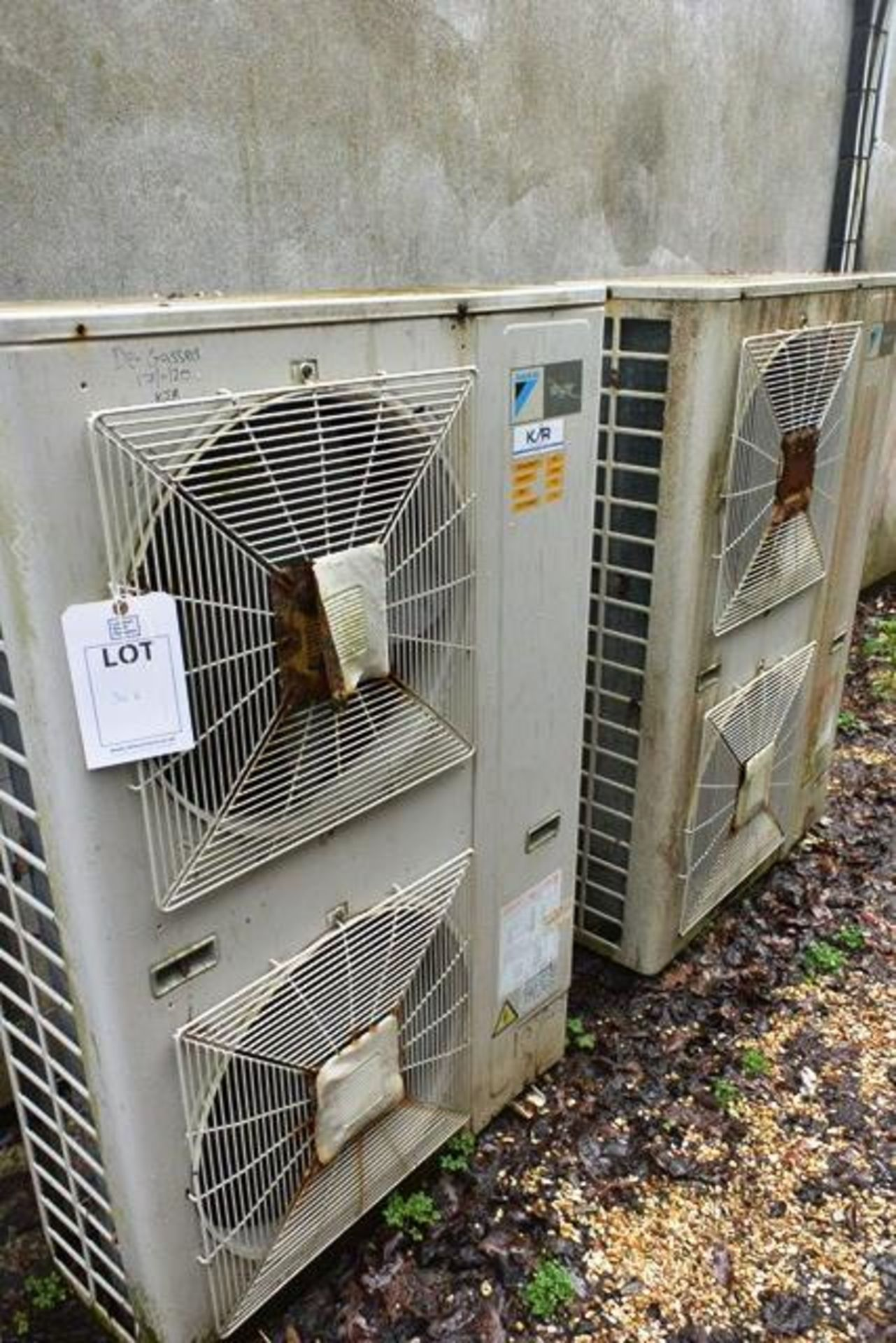 Daiken Skyair RY 125 DJ721, serial no. 3603233 (1996), refrigerant R22 (Please note: units have been