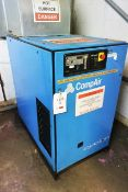 Compair Cyclon 218 air compressor, serial no. F164/0833 (1996), 7.5 bar, 22.1kw, 3 phase, Last...