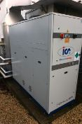 ICS Cool Energy IC525 chiller, serial no. 38178801008 (2016), 3 phase, refrigerant R410A, with