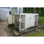 Daiken UATY Q700MCY17 rooftop packaged air conditioner, serial no. K000124 (2016), R410A, rated