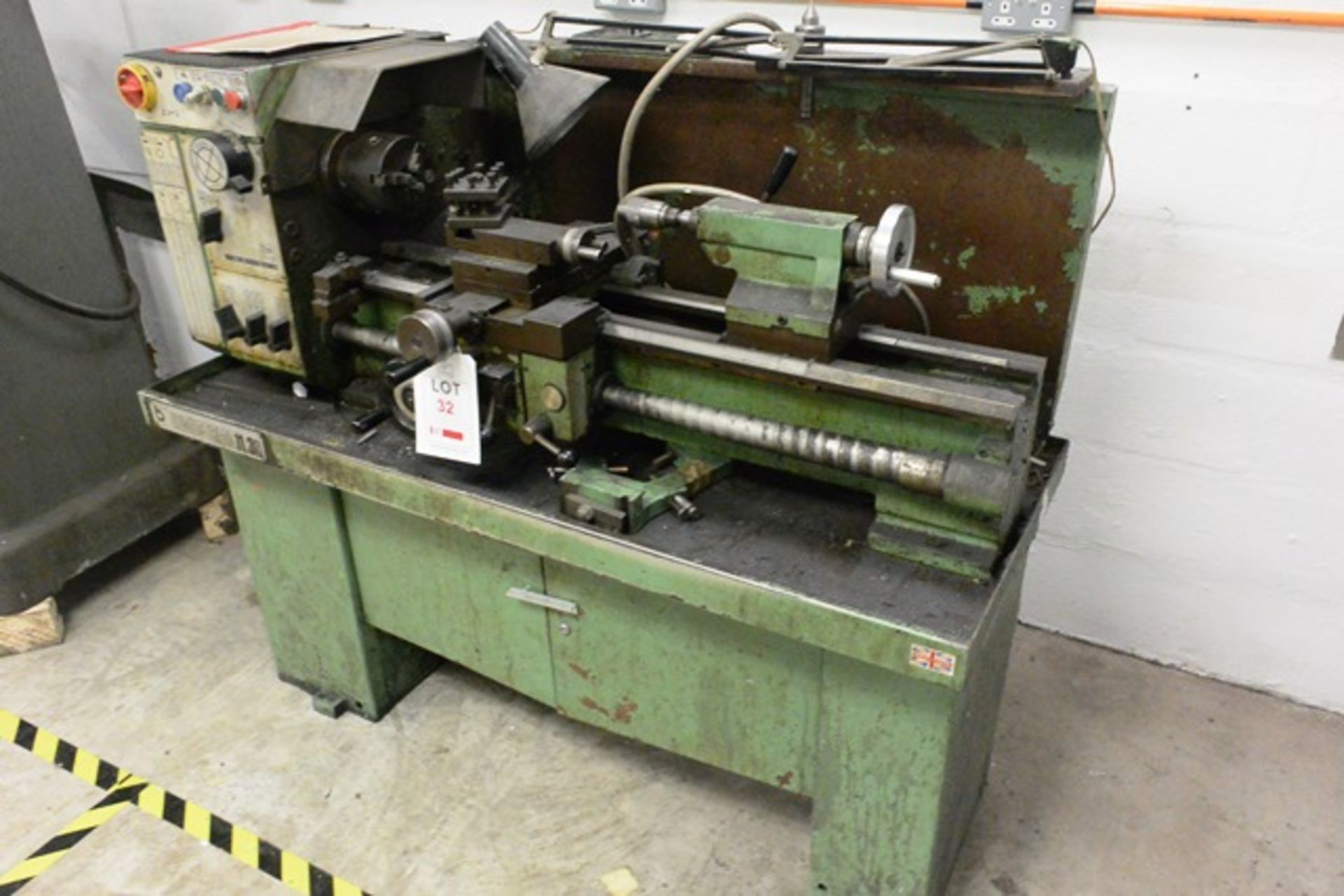 Boxford Industrial 11.30, centre lathe, model: Engineer, distance between centres 770mm, 3 jaw chuck - Image 3 of 4