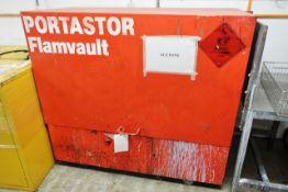 Portastor Flamvault steel frame flammable cabinet (no key)