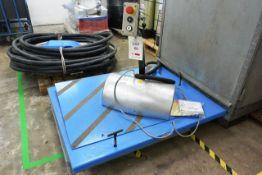 Hansel lifter HIW/HTF-02-Series platform scissor lift, with pedestal control, 3 phase (NB: This item