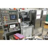 Yo-Hau stainless steel filling machine, type L85ND3, with mould preheat and 4-door/twin side chiller