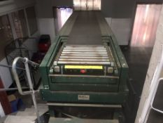 Sovex TL5/25131 telescopic boom conveyor (Bay 9), Belt width approx. 600mm, Machine width approx.
