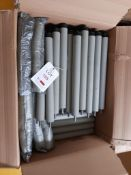 Quantity of boxed Vanderlande rollers, as lotted in five boxes (grey)