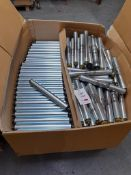 Quantity of boxed Vanderlande rollers, as lotted in two boxes (silver)