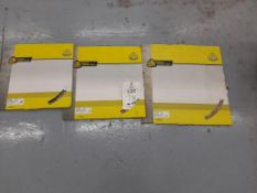 3 - Various Klingspor saw blades, DT602A, DT602B, DT900R, as lotted