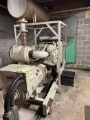 Dorman Dale - 456 kw generator, Plant No. A21T, engine type V12-450G, engine number CV450-B15-138.