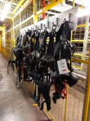 Large quantity of PPE including safety harnesses, fall arrests, helmets etc., as lotted, and 2 -