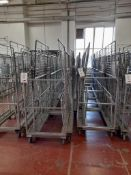 20 - Three shelf wheeled cages (photo for illustration purposes only)