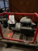Honda ET2500FF 2KVA 110v/240v petrol generator, s/n 0543043