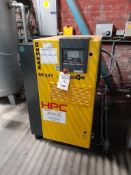 Kaeser HPC SK25 T SFC packaged air compressor, Serial no. 7577, Year 2016, with HPC OW12 oil/water