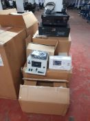 Neal Interview Tape system Containing series 5000 Transcriber with foot pedal and headset. Series
