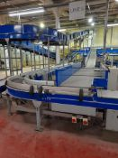 Unloading and data catchment: Line 5 - Approx. 12 various conveyors, belt & roller, straight,