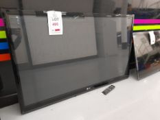 """LG 50PK350 50"""" television, with remote"""