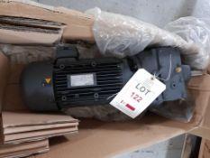 Siemens motor, part no. 857727552-01, year 06/2019, unused