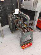 "Ajax horizontal metal bandsaw, Serial no. 28533, saw size - 350mm x 32mm, 14"" x 1 1/4"""
