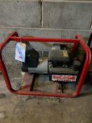 Generac ET2500 2.2KVA 110/240V petrol generator, with Honda R80 LBL engine, s/n 500013377
