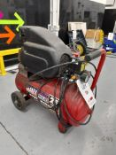 Sealey Power Products 25LSA2228/1.5 V3 air receiver mounted mobile compressor, Year 2006 and a