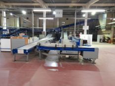 Unloading and data catchment: Line 1 & 2 - Approx. 13 various conveyors, belt & roller, straight,