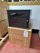 2 - Patch Panel Wall mounted Cabinets in Box 550mm Depth x 550mm Width x 450mm High (Boxed)