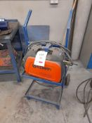 Kemppi Evo 200 Minarcmig mig welder with mobile stand
