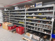 5 - Bays of roller conveyor spares, parts etc., as lotted