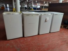 4 - Swan domestic fridges, as lotted