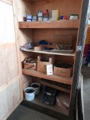 Quantity of pins, nails, screws, bolts, nuts etc. as lotted
