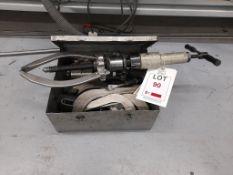 Bearing bush puller set, as lotted