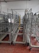 10 - Three shelf wheeled cages (photo for illustration purposes only)