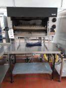 Lincat OG7302 gas salamander, s/n 20102418, purchase date 28/02/2014. A work and Risk Assessment