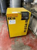 Kaeser HPC SK19 PLUSAIR packaged air compressor, Serial no. 1003. NB: The purchaser must ensure this