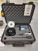 Holroyd MHC- Memo Pro acoustic motor tester, with case etc., as lotted