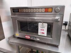 Panasonic Pro II 1400 combi microwave oven