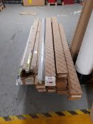 Quantity of Fitzgerald LED light fittings, with a box of LED tube lights, as lotted on pallet