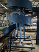 Jonge Poerink Conveyors Hyperion BB-400 spiral reject conveyor, year 06/2018, base approx. 1970mm