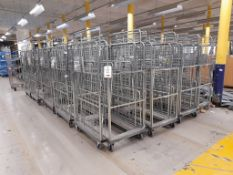 40 - Three shelf wheeled cages (photo for illustration purposes only)